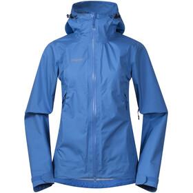 Bergans Letto Jacket Dame cloud blue/athens blue